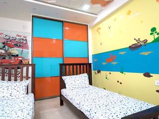 Purple Town, Hyderabad HomeLane.com Boys Bedroom