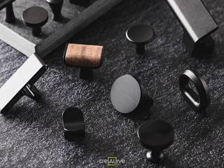 精緻櫥櫃把手 可來新創股份有限公司 家居用品配件與裝飾品 金屬 Black