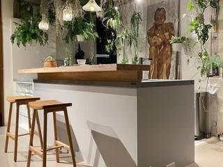 廚具整合規劃-淡水 畫家工作室 可來新創股份有限公司 系統廚具 Multicolored