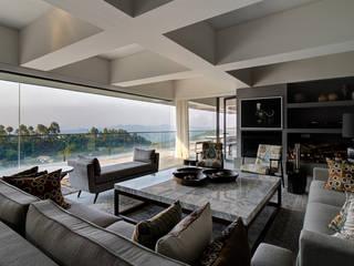 Private Residence | Sitla | Uttarakhand Modern living room by Studio BluOra Modern