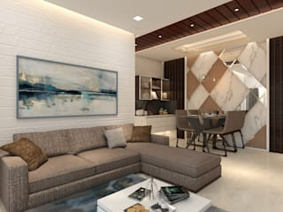 Modern Living Room by TRANCE INTERIORS Modern