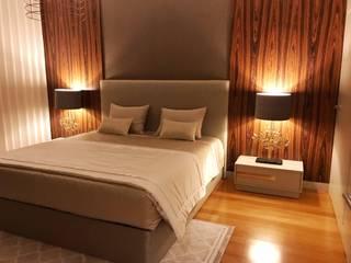 Projeto Reabilitação e Decoração apartamento Quartos modernos por Guanadecor Design de Interiores Moderno