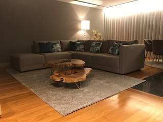Projeto Reabilitação e Decoração apartamento Salas de estar modernas por Guanadecor Design de Interiores Moderno