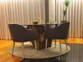 Projeto Reabilitação e Decoração apartamento Salas de jantar modernas por Guanadecor Design de Interiores Moderno