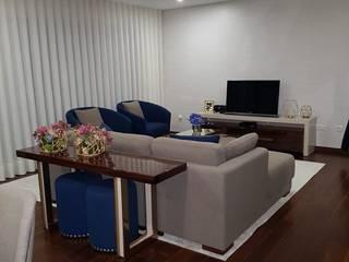 Projeto de Decoração de Moradia Salas de estar modernas por Guanadecor Design de Interiores Moderno