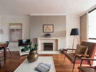 Apartamento Turístico Cascais Salas de estar modernas por Origem Arquitectos Moderno