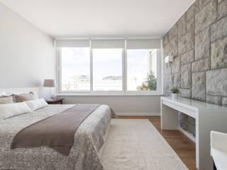 Apartamento Turístico Estoril Biarritz Quartos ecléticos por Origem Arquitectos Eclético