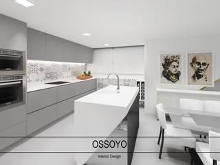 Apartamento Diamante Cozinhas modernas por Ossoyo Moderno