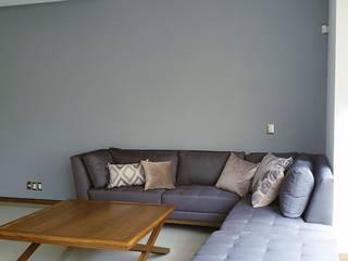 Verde Lavanda Modern living room