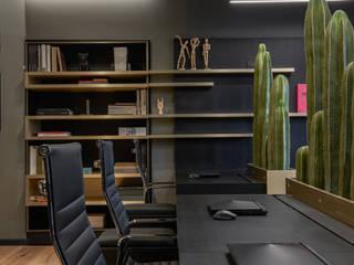 Oficinas y comercios de estilo moderno de Sulkin Askenazi Moderno