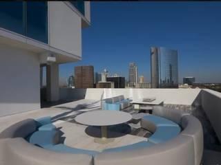 Inversionistas Calificados Inversión inmobiliaria en Houston Balcones y terrazas modernos de RoGer Real Estate Brokers Moderno