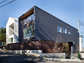 HAN環境・建築設計事務所 Passive house Metal Black