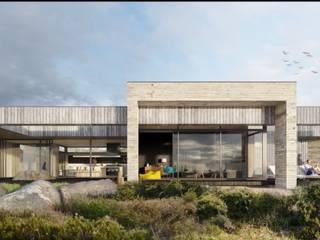 Casa Reko de Carlos Mardones Arquitectos Moderno