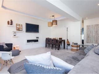 Apartamento T2 - Carnaxide - Home Project por Acontece Design Solutions Escandinavo