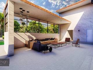 Casa Refúgio do Designer Varandas, marquises e terraços modernos por Aadna.Design Moderno