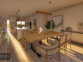 Casa Familiar Espanha Salas de estar ecléticas por Aadna.Design Eclético
