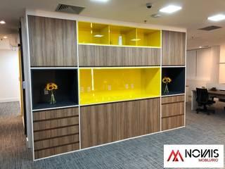Escritório Novais Mobiliário Escritório e loja MDF Amarelo