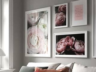 NORDIKA GALLERY TABLO POSTERLERİ – Dekoratif çiçek tabloları: modern tarz , Modern