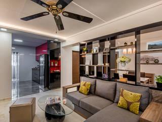 Project : Blk 655 Jalan Tenaga #06-xx: asian  by E modern Interior Design,Asian