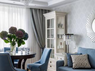 Домашняя история Гостиная в классическом стиле от Елена Бодрова Классический