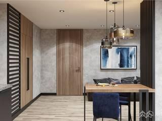 Квартира площадью 90,1 м.кв. Гостиная в стиле минимализм от Art Family Минимализм