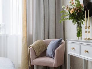 Квартира мечты на Парковой улице Спальня в эклектичном стиле от Елена Бодрова Эклектичный