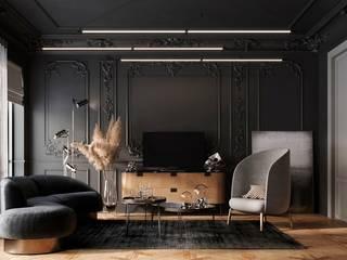 Дизайн гостиной Гостиная в классическом стиле от Студия дизайна интерьеров и ремонта Алексея Выходца Классический