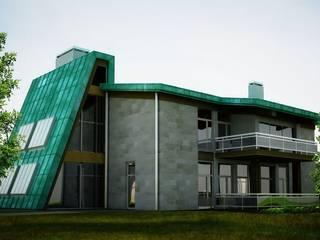 Проект домов от Студия дизайна интерьеров и ремонта Алексея Выходца Эклектичный