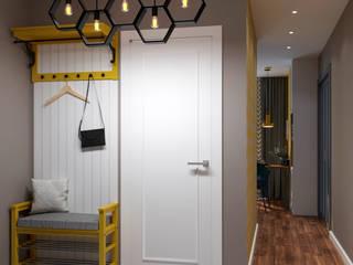 Наталья Преображенская | Студия 'Уютная Квартира' 斯堪的納維亞風格的走廊,走廊和樓梯