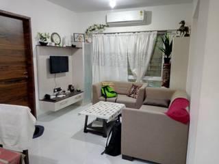 2BHK Interior Design: modern  by HAMID PAWASKAR,Modern