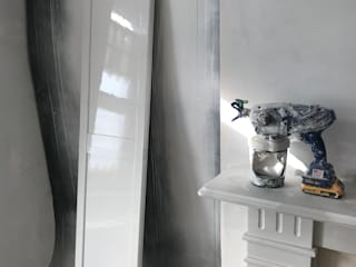 samples of our work AL PAINTING Modern style bedroom White