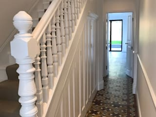 samples of our work AL PAINTING Stairs Wood White