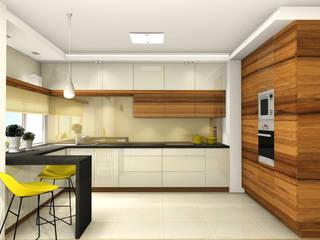 """Auszüge meiner Arbeit bei """"Nickel Design"""" Moderne Küchen von La mila Interior Design Modern"""