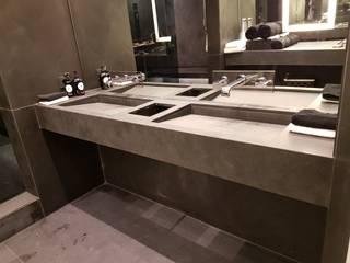 Plurirochas Lda. Eclectic style bathroom Stone Black