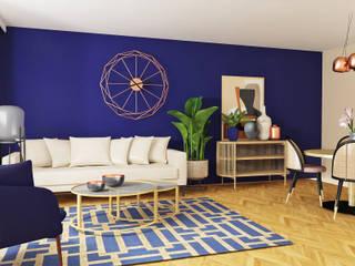 Eine Liste von Projektbeispielen mit sehr unterschiedlichen Stilen Ausgefallene Wohnzimmer von La mila Interior Design Ausgefallen