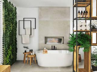 Entwürfe für Badezimmer - meine Beispiele für verschiedene Stile und funktionelle Lösungen Moderne Badezimmer von La mila Interior Design Modern