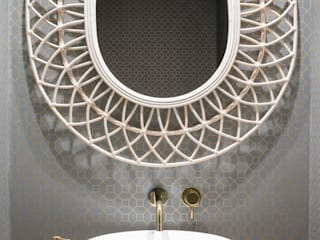 El aseo essencia.arquitectura Baños de estilo moderno