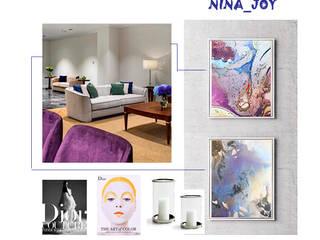 Декорирование и стилизация апартаментов HAPPYHOME-NINA Гостиницы в эклектичном стиле