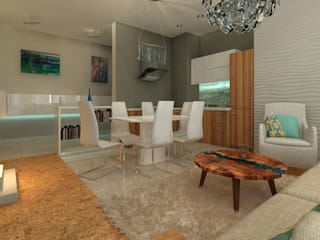 Eclectic style dining room by Элла Юрик Eclectic