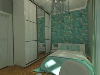 Квартира с женским интерьером Хрустальное сияние от Элла Юрик Эклектичный