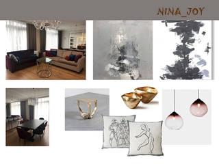 Декорирование гостиной комнаты HAPPYHOME-NINA ГостинаяАксессуары и декорации