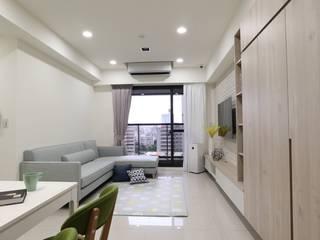 混美墅 根據 張顥騰室內裝修設計有限公司 簡約風