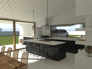 Casa de Campo Cozinhas minimalistas por A78 Interiors Minimalista