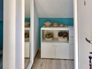 Apartamento 40m2 Closets escandinavos por A78 Interiors Escandinavo