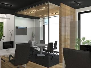 Escritórios em Lisboa Espaços de trabalho minimalistas por A78 Interiors Minimalista