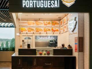 Cachorro à Portuguesa | Strada Outlet Espaços de restauração industriais por A78 Interiors Industrial