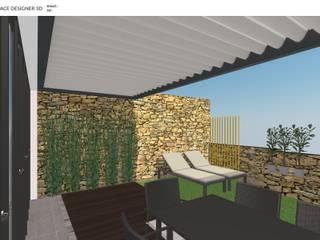 Projecto de Jardim por Decodesign Moderno