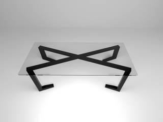 FLOM Study/officeDesks Glass Black