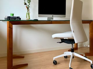 FLOM Study/officeChairs Leather White