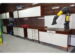 Производственная мебель для мастерской от МетМебельГрупп Лофт